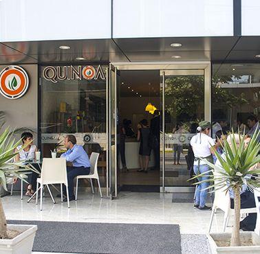 QUINOA DEAN VALDIVIA Restaurante - Reserva en restaurantes de Comida CAFé - SANDWICH Y ENSALADAS - SAN ISIDRO - MESA 24/7   LIMA - Perú