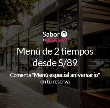 BOTTEGA DASSO Restaurante - Reserva en restaurantes de Comida BAR - TAPAS Y PIQUEOS - SAN ISIDRO - MESA 24/7 | LIMA - Perú