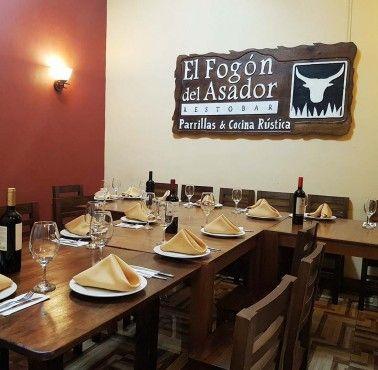 EL FOGóN DEL ASADOR Restaurante - Reserva en restaurantes de Comida CARNES Y PARRILLAS - MAGDALENA DEL MAR - MESA 24/7 | LIMA - Perú