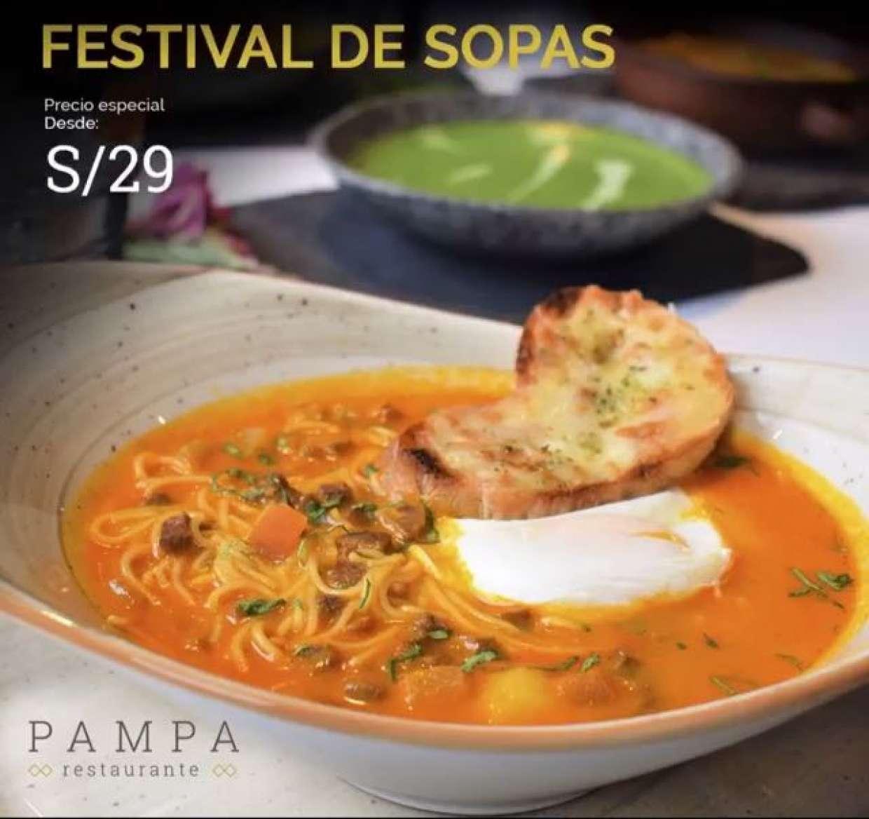 Festival de Sopas y Cremas