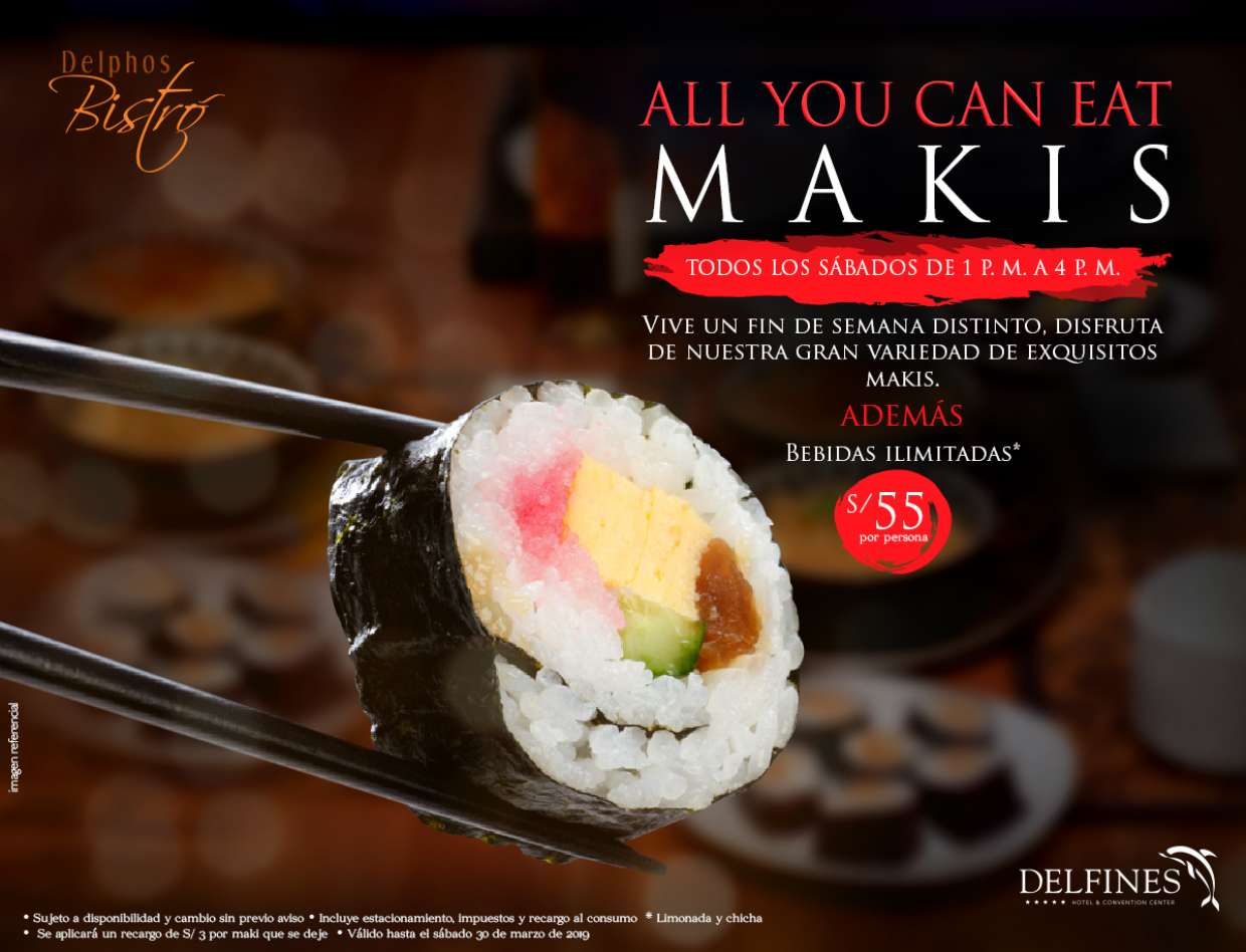 All you can eat Makis