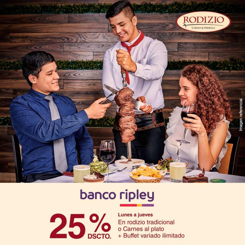 25% Dscto. Banco Ripley