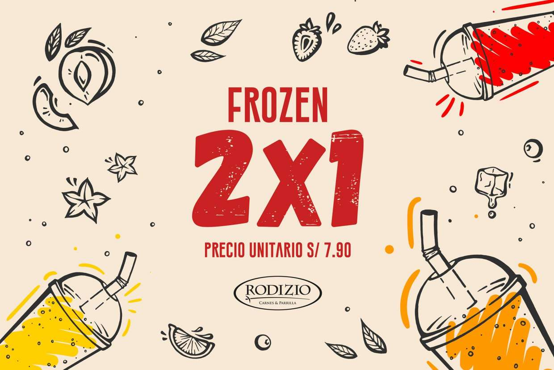 ¡Llegaron los frozen a Rodizio!