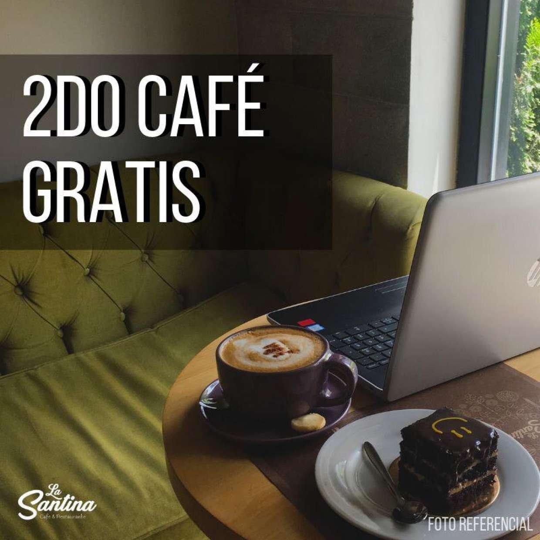 ¡DISFRUTA EL DOBLE! ¡2DO CAFÉ GRATIS!