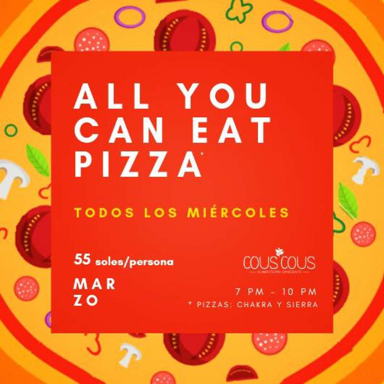 All You Can Eat Pizza