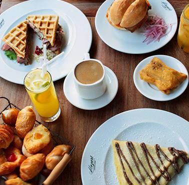 MOZART Restaurante - Reserva en restaurantes de Comida CAFé - SANDWICH Y ENSALADAS - SAN BORJA - MESA 24/7 | LIMA - Perú