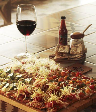 VEGGIE PIZZA (BARRANCO) Restaurante - Comida ORGáNICA - BARRANCO - MESA 24/7 | Perú