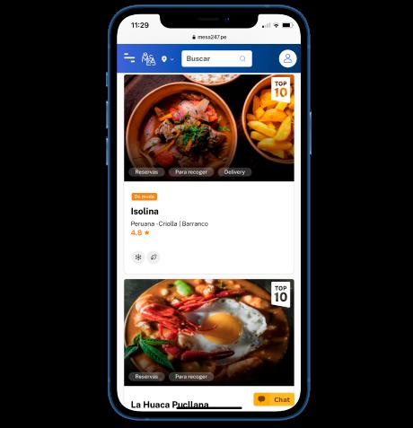 Imagen de un iphone para giftcard