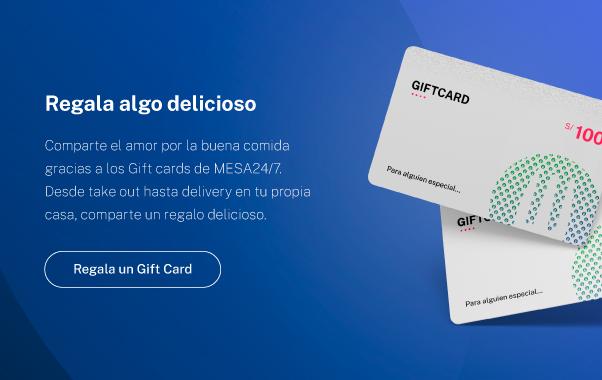 Imagen del Gift card