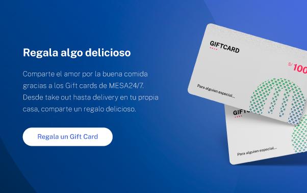 Imagen del Gift card en hover