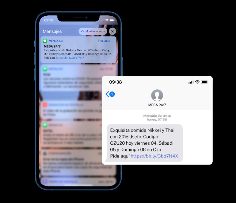Imagen de SMS – Mensaje de texto